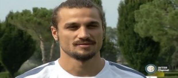 Osvaldo, attaccante dell'Inter