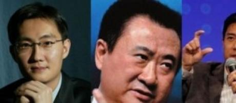 Los tres empresarios competidores de Alibab