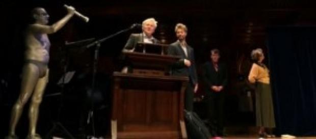 Al teatro di Harward si consegnano i premi