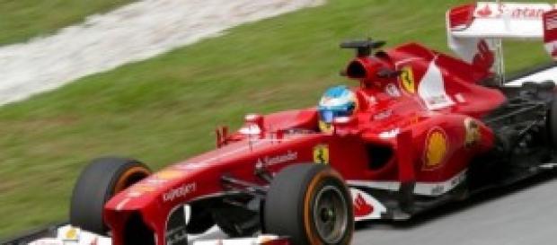 Fernando Alonso en Malasia.