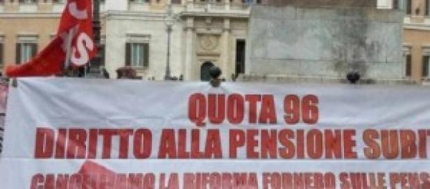 Pensioni, quota 96 scuola, RdS e governo Renzi
