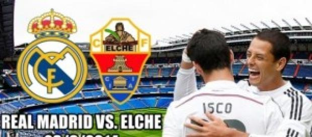 Real Madrid vs Elche jornada 5