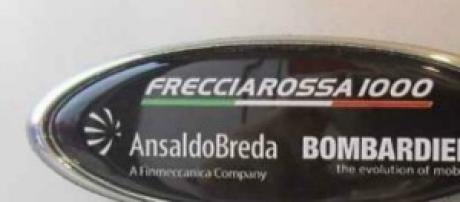 Lo stemma di Frecciarossa 1000