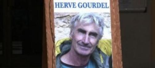 Capture d'écran d'un portrait d'Hervé Gourdel
