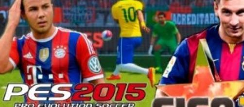 PES 2015 VS FIFA 15: CHI VINCERÀ LA SFIDA ?