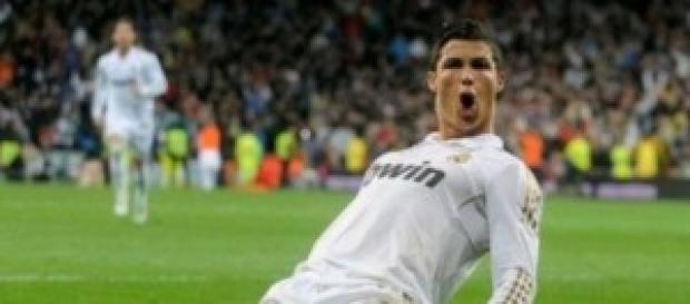 El Madrid golea gracias a Cristiano Ronaldo.