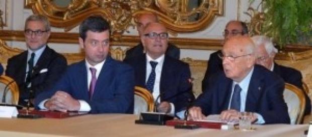 Giustizia, amnistia, indulto: Orlando e Napolitano