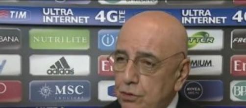 Serie A: Ad Galliani parla bene del suo Milan