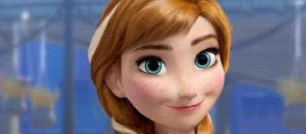 "Anna, la protagonista de ""Frozen"""