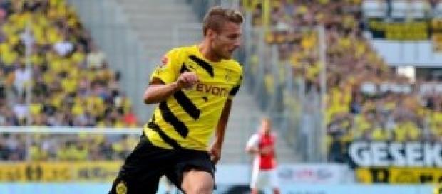 Ciro Immobile attaccante Borussia Dortmund