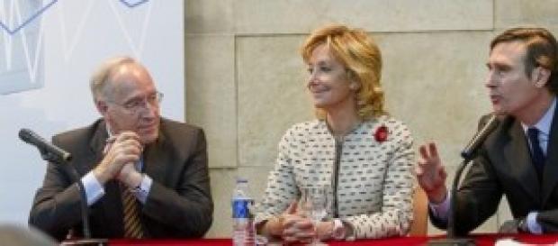 Esperanza Aguirre en un evento.