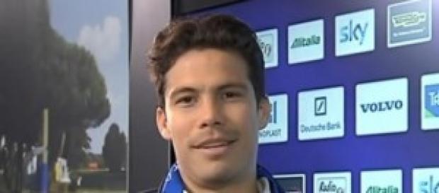 Hernanes, centrocampista dell'Inter