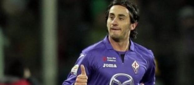 il centrocampista viola Aquilani