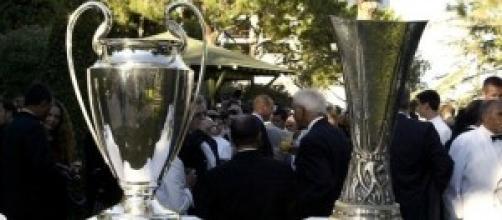 Dal 30 settembre, Champions ed Europa League