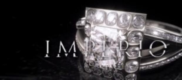 Nasce uma jóia na abertura da novela Império.
