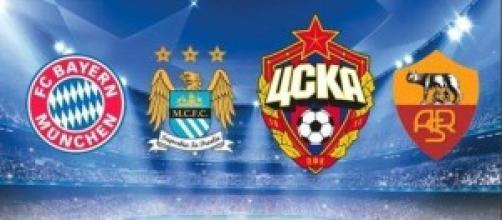 Champions League, 2^ giornata martedì 30 settembre