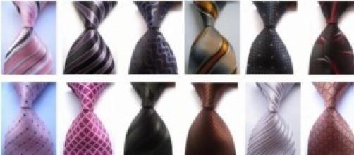 Las corbatas en el hombre