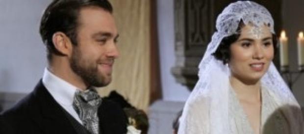 Matrimonio Fernando e Maria Il Segreto