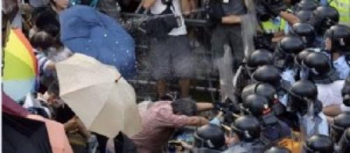 Hong Kong -Umbrella Revolution - 2014 by CNN