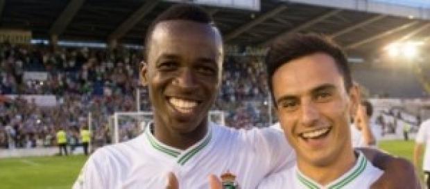 Kone e Iñaqui, autores de los tres goles