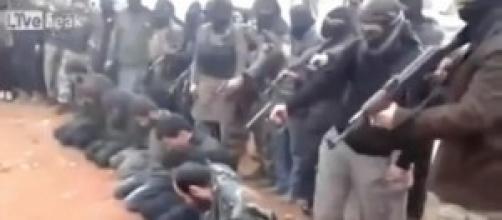 Esecuzione da parte di militanti dell'ISIS