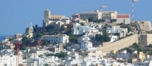 Un'immagine dell'isola di Ibiza