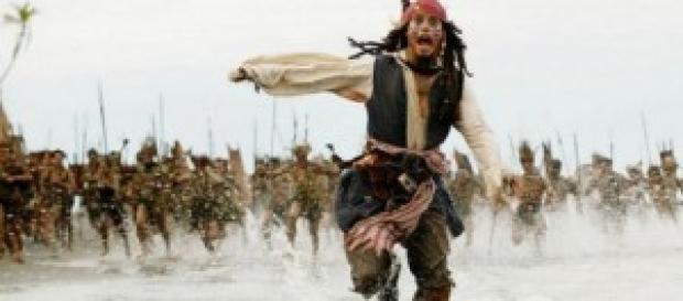 Jack Sparrow corriendo hacia Australia.