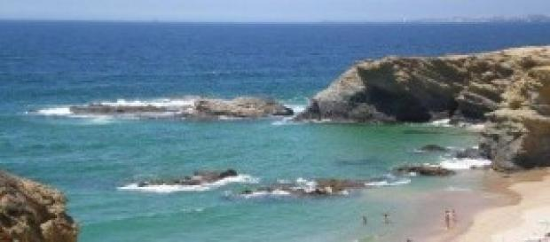 Praia em Porto Côvo (foto de T. Talhas)