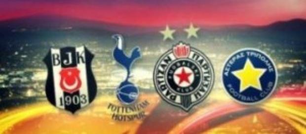 Europa League gruppo C, giovedì 1 ottobre