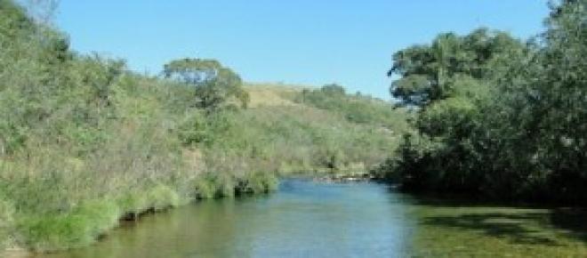Corrego do Rio São Francisco na Serra da Canastra