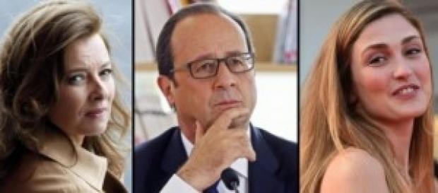 Hollande esce a pezzi dal libro della ex moglie