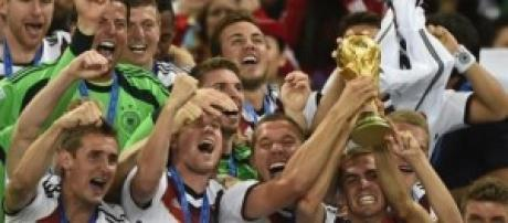 Germania campione del mondo 2014