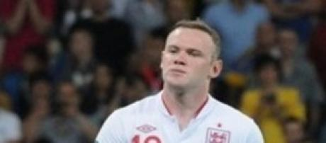 Wayne Rooney attaccante dell'Inghilterra