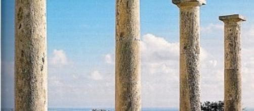 Cipro: resti del tempio di Apollo