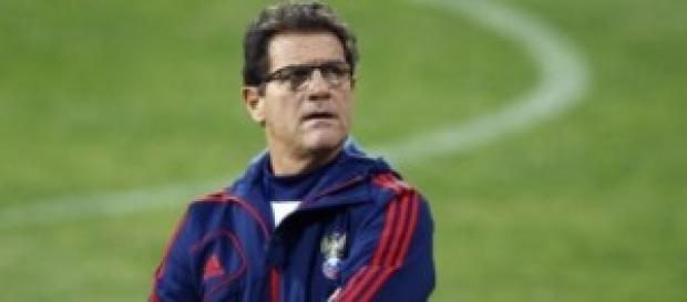 Fabio Capello allenatore della Russia