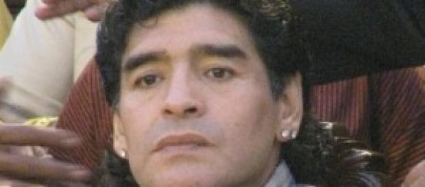 Un'immagine di Diego Armando Maradona