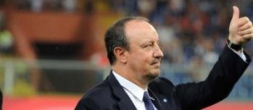 Rafael Benitez, tecnico del Napoli Calcio