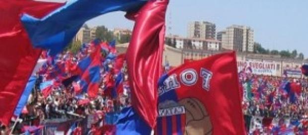 Calcio Serie B 2014-15: Pro Vercelli-Catania