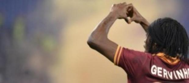 L'attaccante ivoriano Gervinho