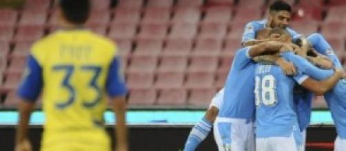 Match precedente del Napoli contro il Chievo