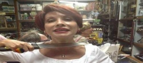 Alda D'Eusanio, foto shock contro Renzi