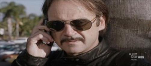 Filippo De Silva al telefono