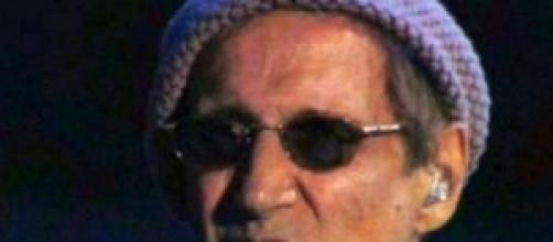 Il cantautore Adriano Celentano