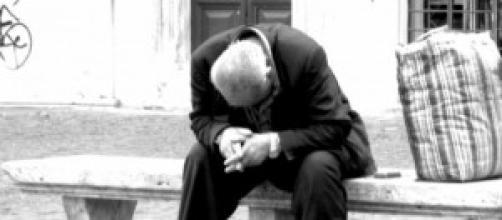 La disperazione di un uomo che ha perso tutto