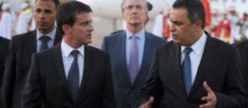 Manuel Valls et Mehdi  Jomaâ
