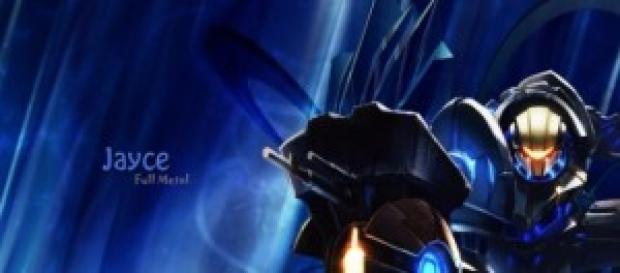 Skin del personaje Jayce - Armadura completa