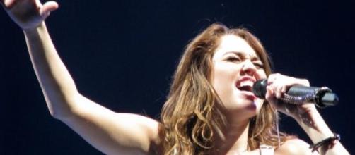 La polémica cantante Miley Cyrus