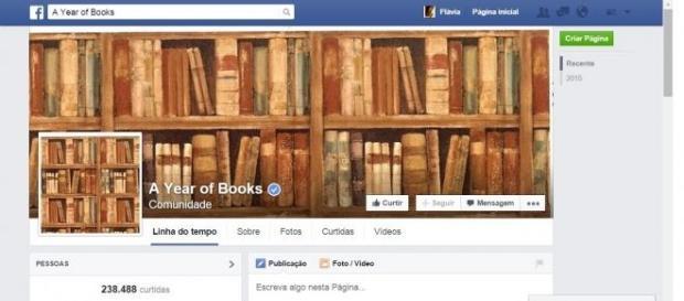 Clube de leitura 'A Year of Books' (Reprodução)