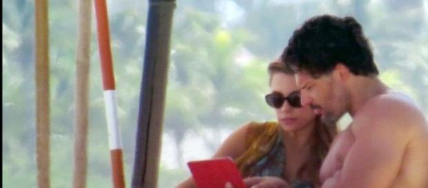 Sofía Vergara y Mangianello en sus vacaciones