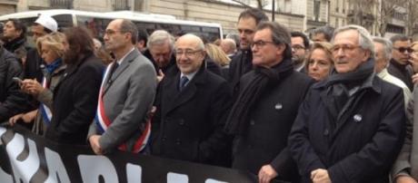 Mas y Trias contra el terrorismo en París